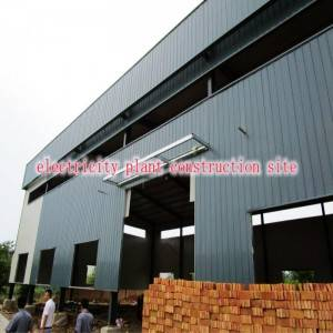 Customized Industrial Steel Building with Economic Cost and Modern Design with Installation