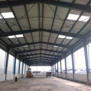 H-Section Steel Construction Prefab House for Workshop