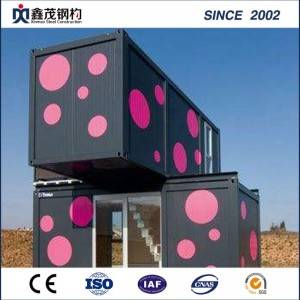 Flat Pack Modular Container House with Steel Frame