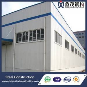 Light Steel Structure Storage with Design, Drawing and Installation