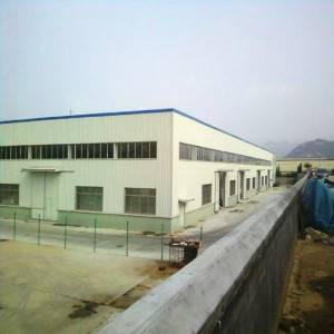 Low Cost Prefabricated Steel Construction Workshop Frame Warehouse