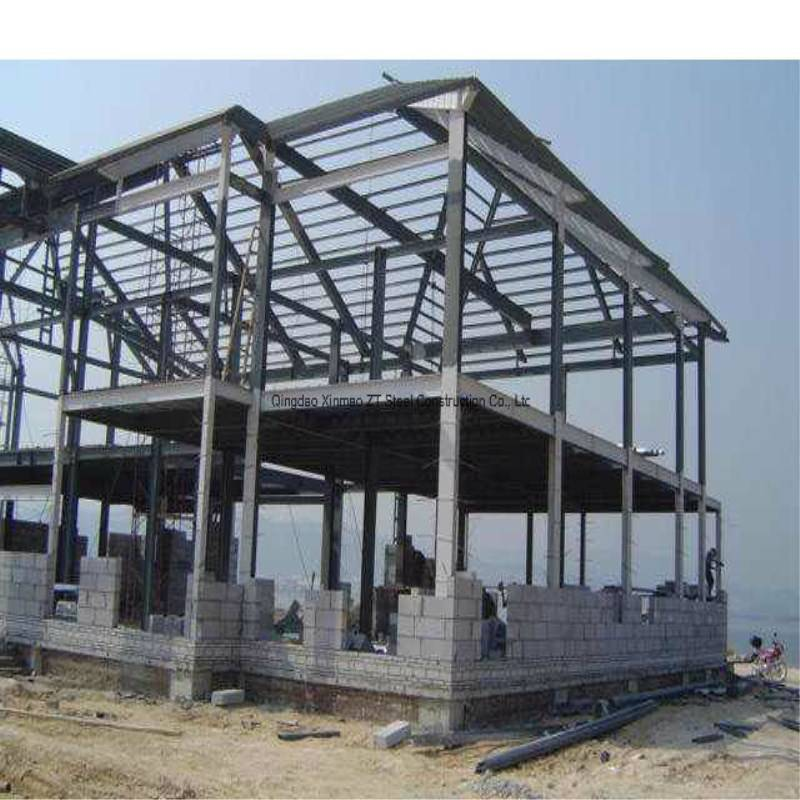 Large Span Steel Structural Building with Crane for Warehouse, Industrial Workshop Featured Image