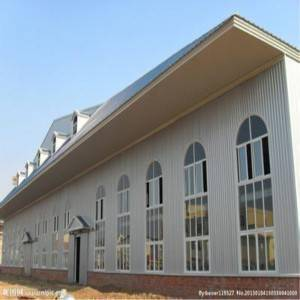Fast Assembled Prefabricated Steel Structure Industrial Building (Steel Frame)