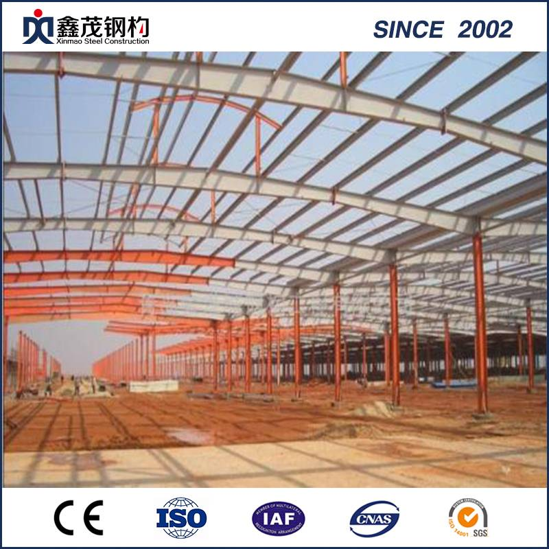 Free Design Steel Structure Workshop /Warehouse Prefabricated Steel Structure Buildings Featured Image