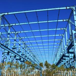 Fast installation low cost prefabricated warehouse steel structure philippines