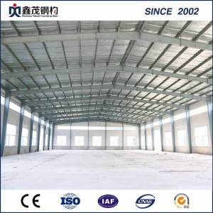 Customized Prefabricated Steel Structure Warehouse with Lower Price