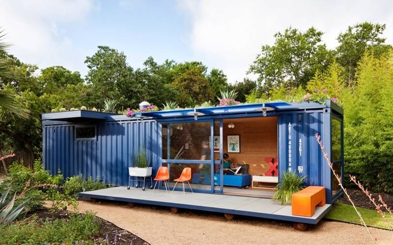 40` shipping container house