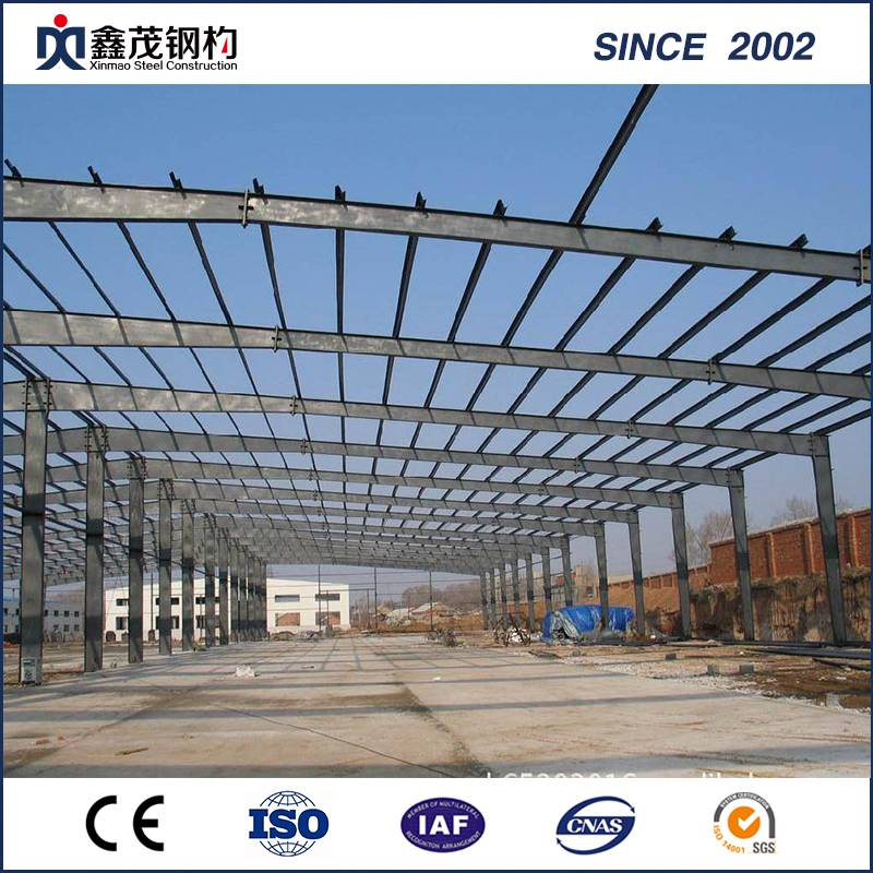 China Prefabricated Construction Factory/ Light Steel Structure Building for Warehouse Featured Image