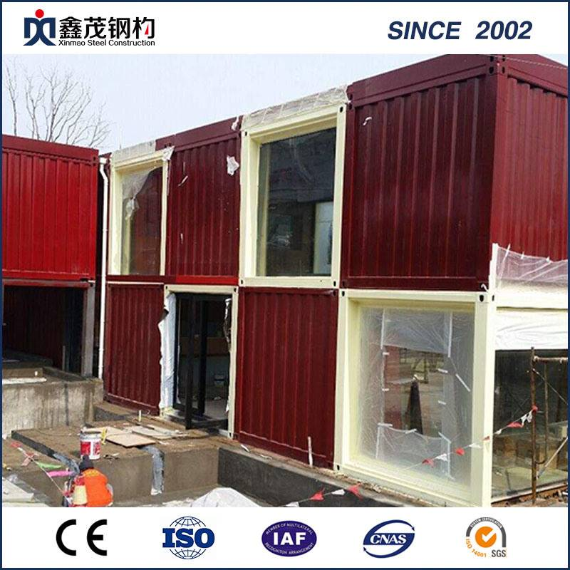 China OEM Underground Container Houses - Assemble Movable 20FT Container House for Resort Hotel – Xinmao ZT Steel Featured Image