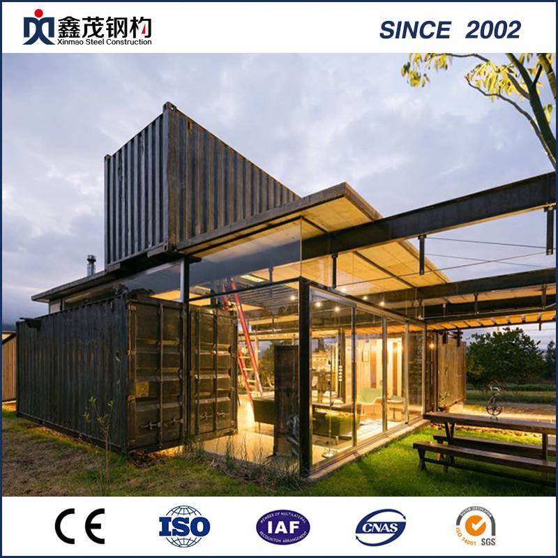 China OEM Underground Container Houses - Assemble Movable 20FT Container House for Resort Hotel – Xinmao ZT Steel detail pictures