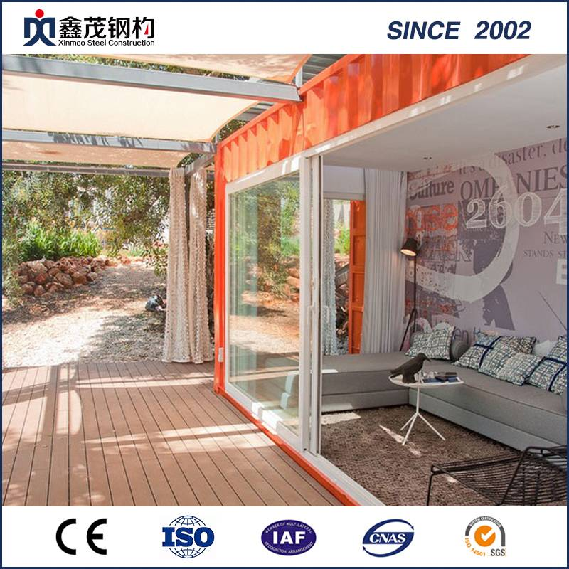 China OEM Underground Container Houses - Assemble Movable 20FT Container House for Resort Hotel – Xinmao ZT Steel