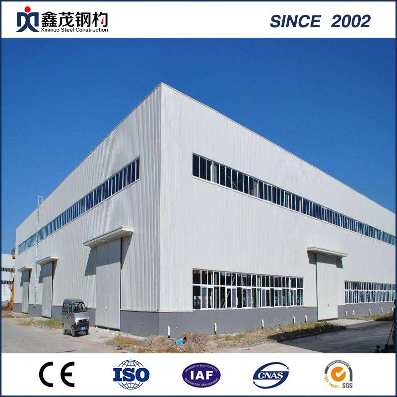 Quoted price for Steel Frame Building Assembly -