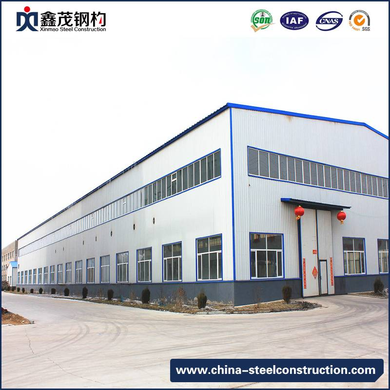 China Factory Q345 Steel Tube Steel Structure Building for Storage