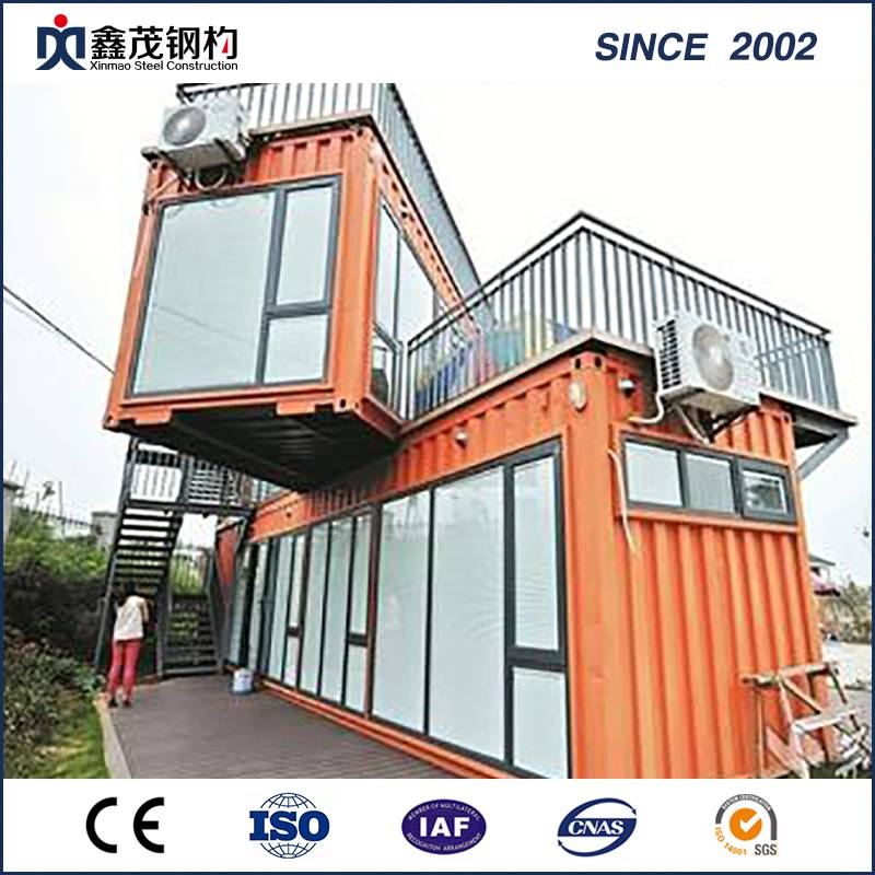 China Movable Prefab Container House kwa Toilet (Container Nyumbani)