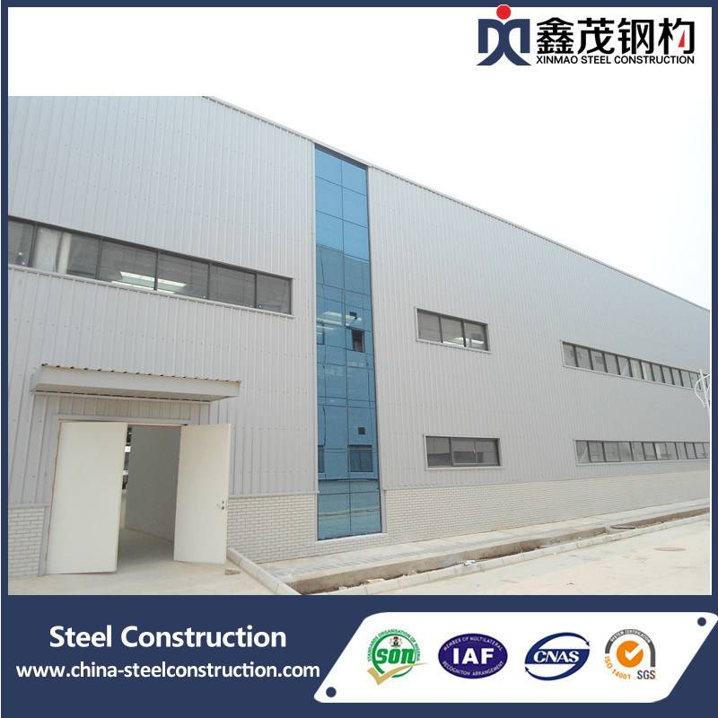Popular Design for High Quality 20ft Container House - China Prefab Steel Construction Workshop as Industrial Building (Steel Structure) – Xinmao ZT Steel