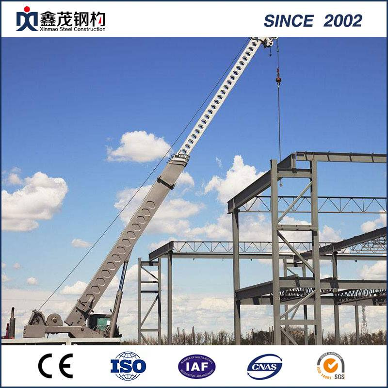 China Prefabricated Structural Steel Building for Warehouse Workshop