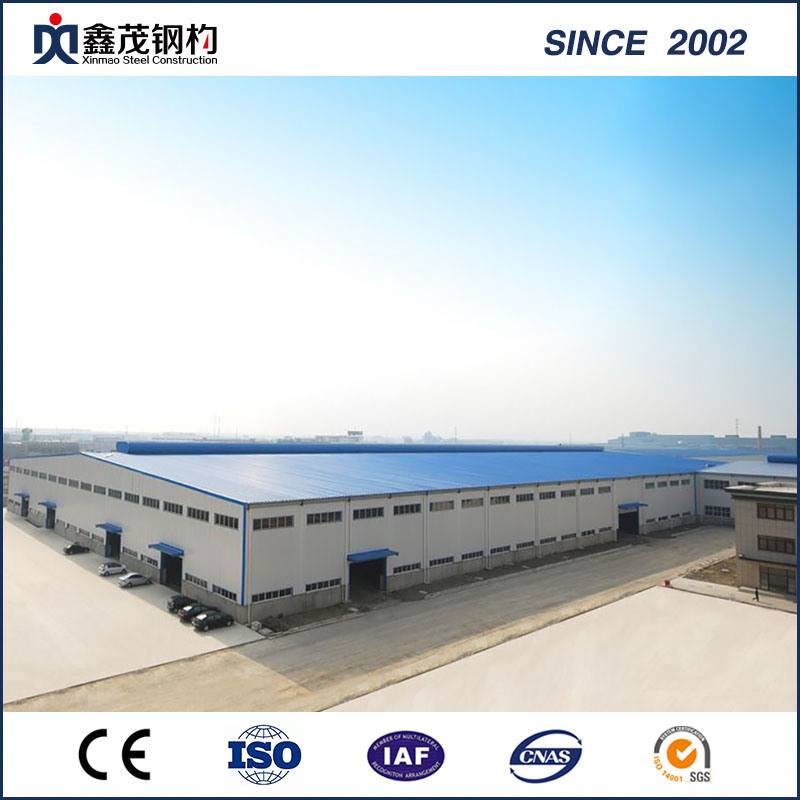 China Supplier Certifacated Steel Structure Building for Steel Structure Warehouse