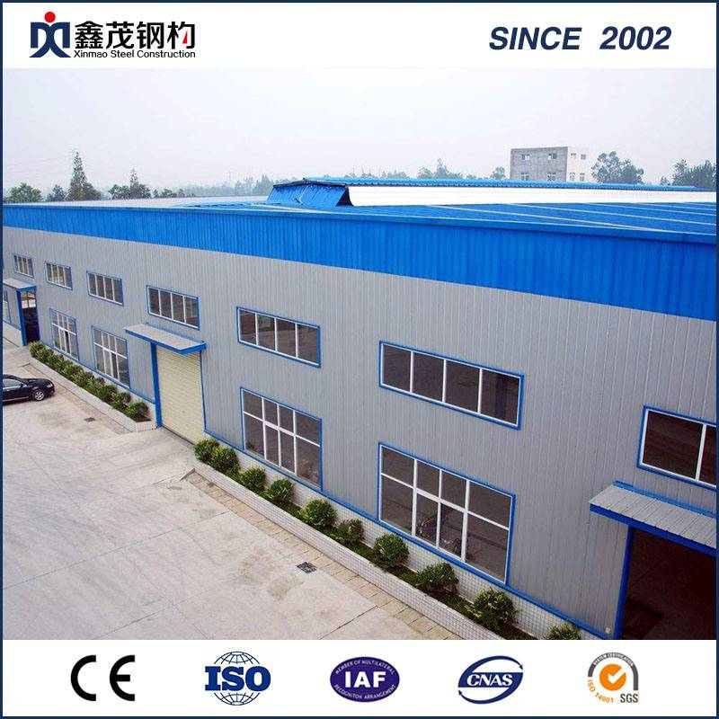 China Top kona mea e like Galvanized Steel 'ole Workshop no ka hola
