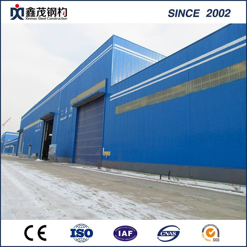 Chinese Manufacture of Steel Structure Workshop Steel Structure Plant