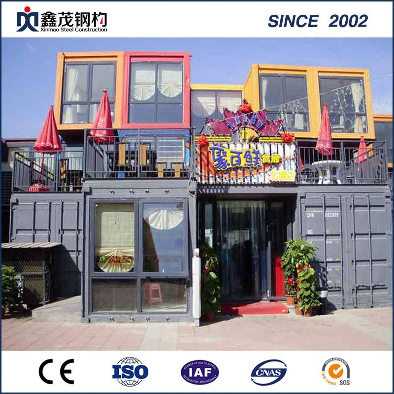 Hot sale Poultry Farm Structure - Customized Assemble and Movable Container House for Modular Hotel – Xinmao ZT Steel