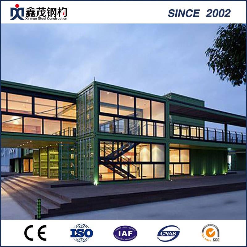 Customized China Prefab Shipping Container Haus als Modular Hotels