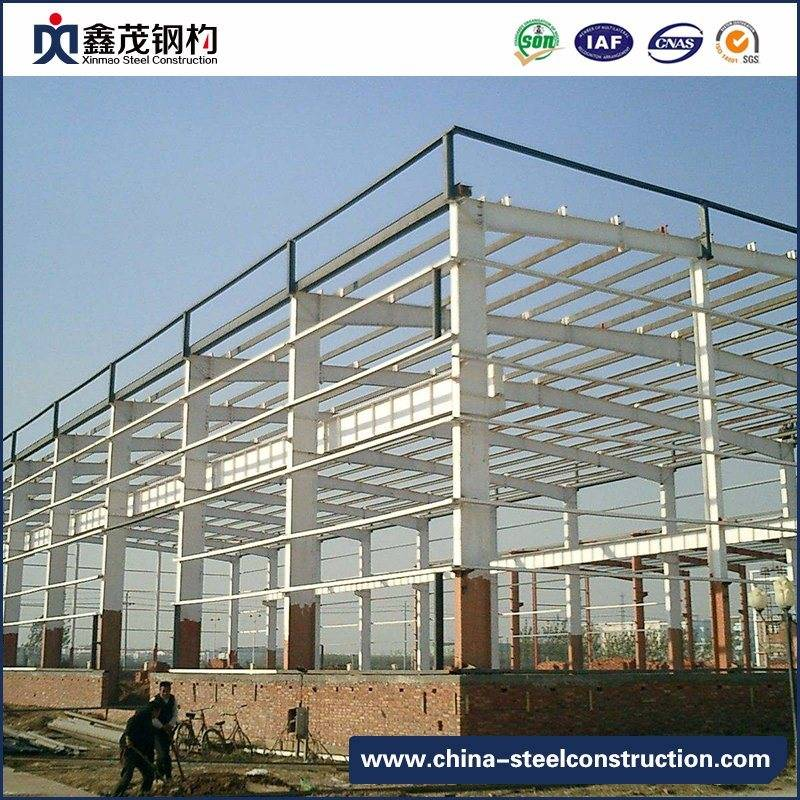 Customizat Prefabricate din oțel Structura Depozit cu Sandwich Panel (Steel Warehouse)