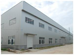 Steel Struktur Frame Workshop Buildings