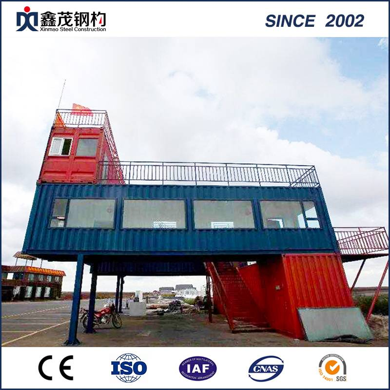 Newly Arrival Steel For Building Construction - Dismountable Expandable 20 FT Container House for Retail Shop – Xinmao ZT Steel