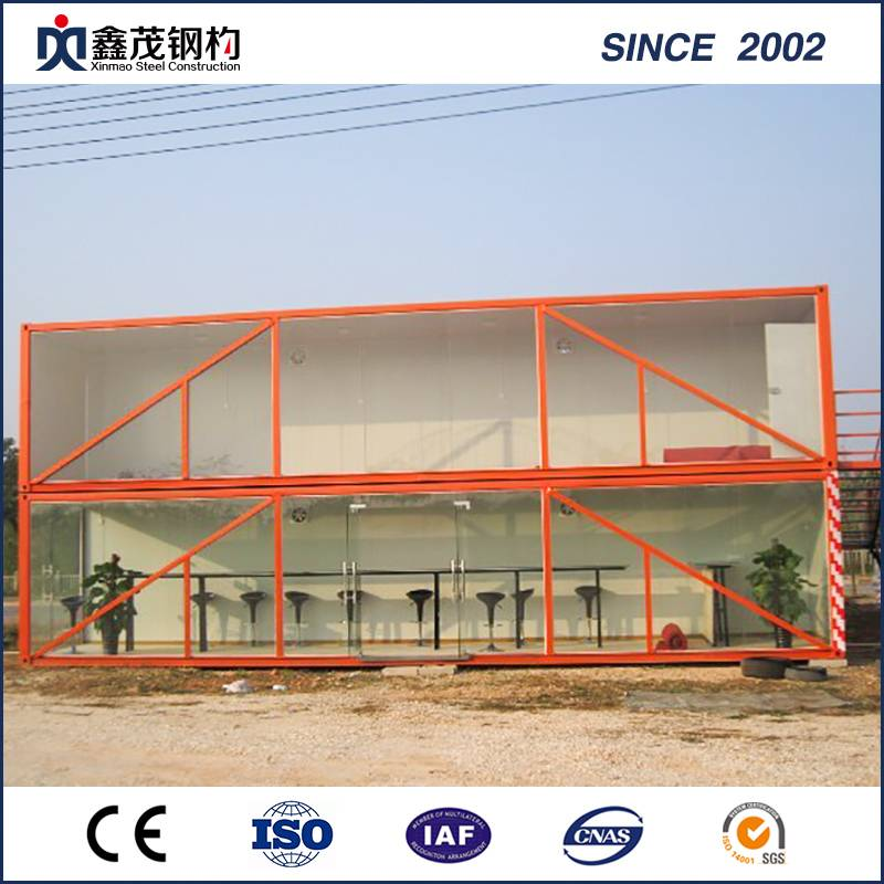 Easy to Install 20 Feet Construction Site Prefabricated Container House for Camp Featured Image