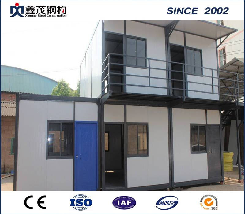 Easy to Install 20 Feet Construction Site Prefabricated Container House for Camp