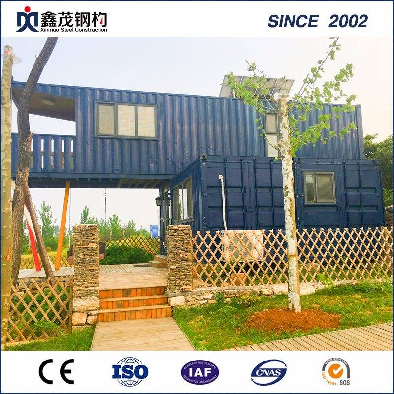 Economic Flatpack Water Proof Steel Structure Container Home