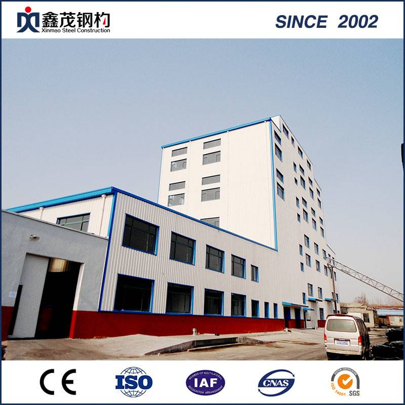 Economic Quick Install Steel Structure for Prefab Workshop Prefabricated House
