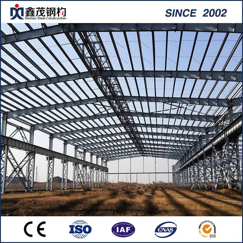 Supplier pakar Rust Pencegahan tahan api Steel Structure Warehouse