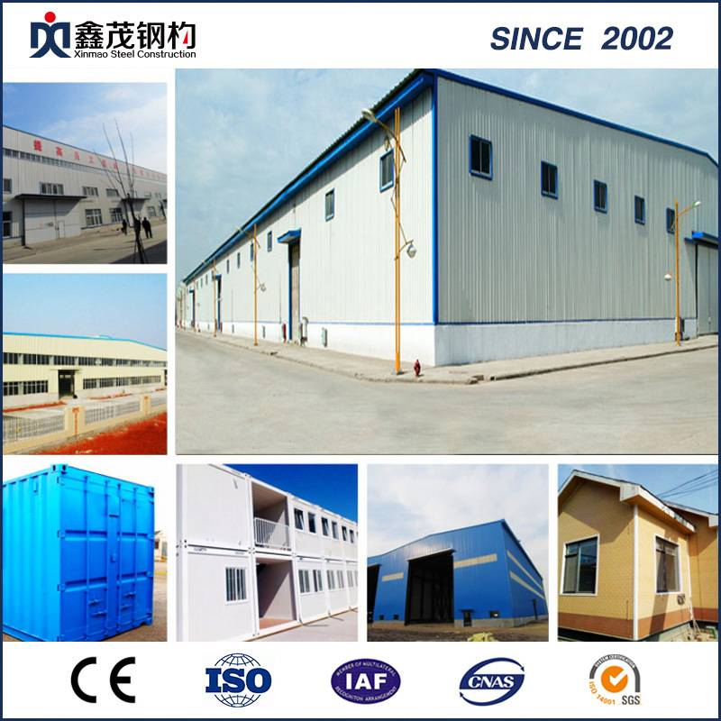 Factory For Container Home Exterior Insulation - Factory Price Light Steel Structure Large Span Building – Xinmao ZT Steel