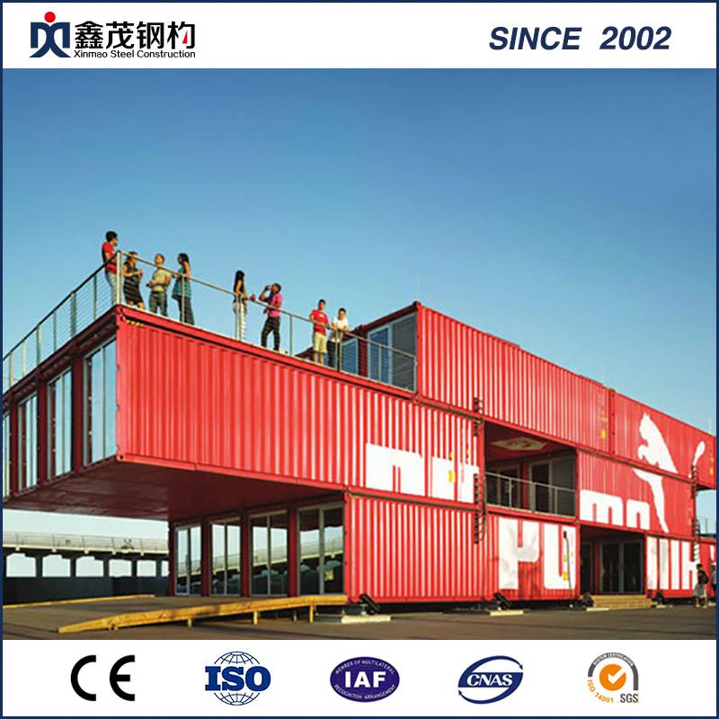 Factory Customized Pre-Engineered Steel Building - Fashionable Design Shipping Container House with Fittment – Xinmao ZT Steel