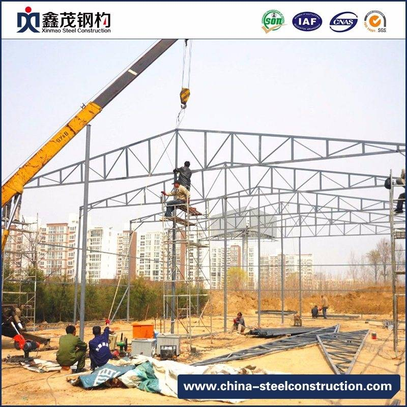 Fast Assembled Prefabricated Steel Building for Steel Structure Construction Workshop