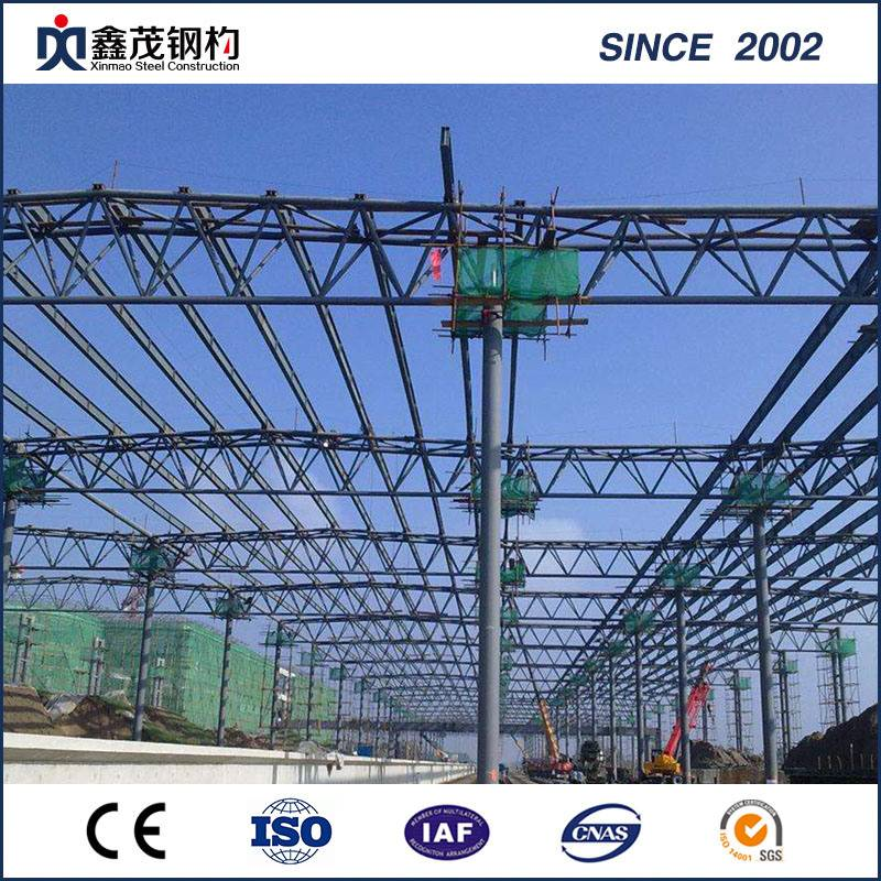 Fireproofing Zəlzələ-Proof Crane ilə Prefabricated Steel Construction Workshop