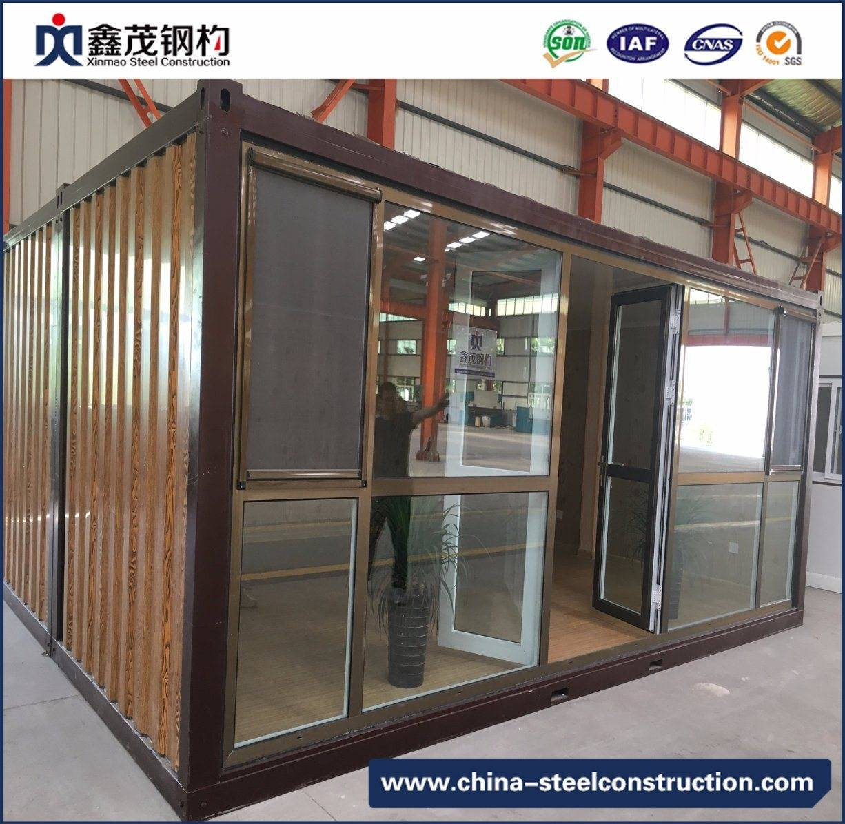 Price Sheet for Prefabricated Warehouse Design - Flat Pack 20FT Container House with Kitchen, Washroom – Xinmao ZT Steel