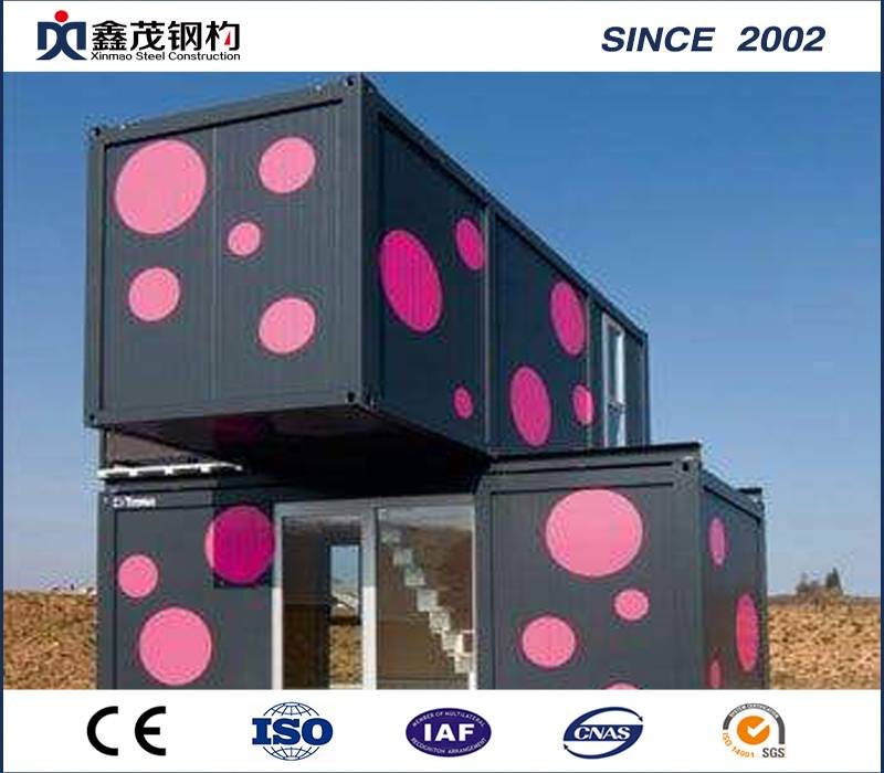 Bottom price Steel Structure Prefab Camping House - Flat Pack Modular Container House with Steel Frame – Xinmao ZT Steel