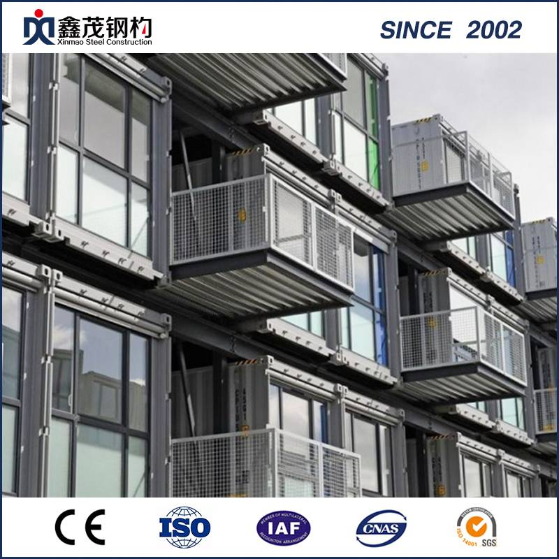 Newly Arrival Philippines Houses Prefabricated - Flat Pack Modular Prefabricated Expandable Container House for Office – Xinmao ZT Steel