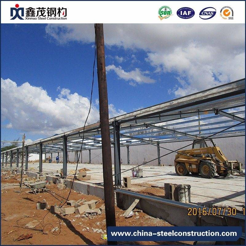 Full Set Movable Prefabricated Steel Structure for Warehouse Building