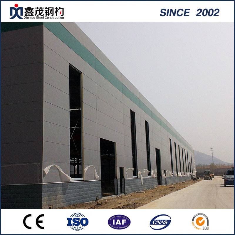 Galvanized Steel Wholesale Steel Structure Hangar Workshop with Certification
