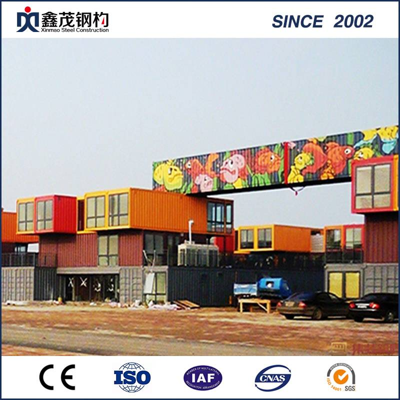 Maayong Gidisenyo Mobile Container House Shop sa Sandwich Panel