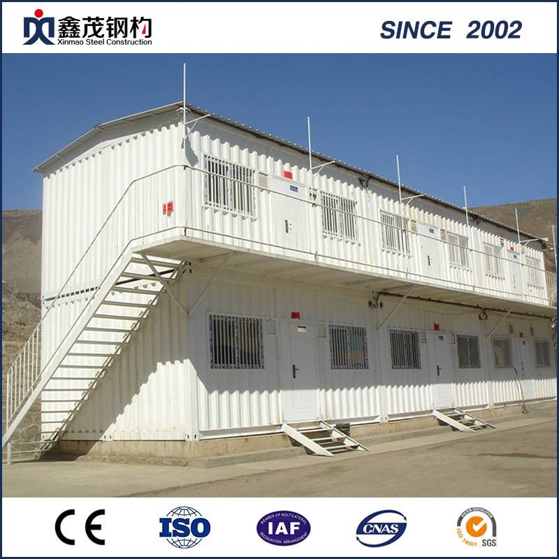 OEM/ODM China Design Prefabricated - Good Designed Modified Modular Shipping Container House for Man Camp – Xinmao ZT Steel