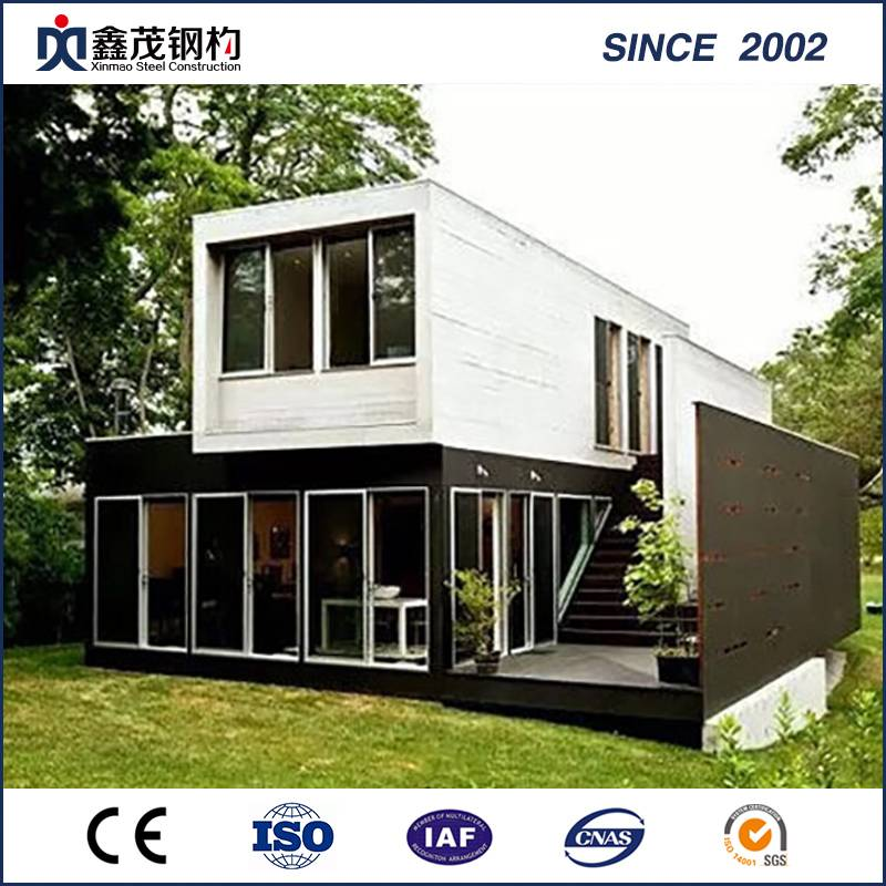 Bottom price 20ft Shipping Container House - Good Designed Shipping Container House for Living – Xinmao ZT Steel