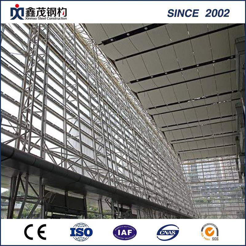 Leading Manufacturer for Prefabricated Residential Houses - H Section Steel Construction Steel Structure Exhibition Hall – Xinmao ZT Steel