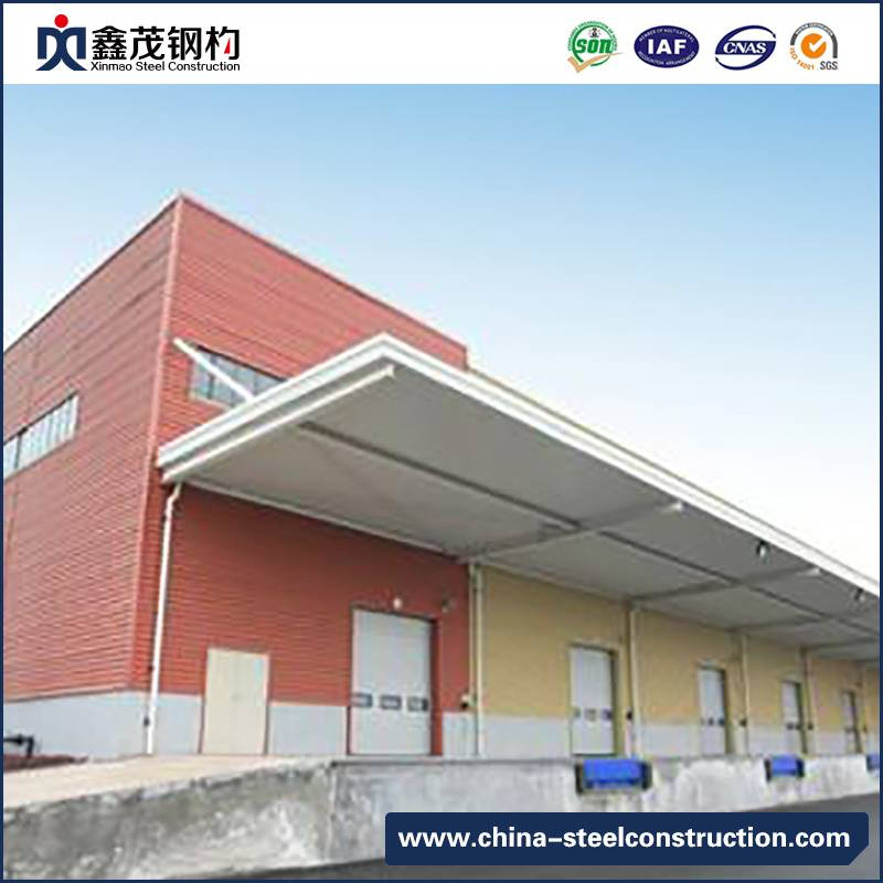 H Section Steel Frame Building for Logistics Storage