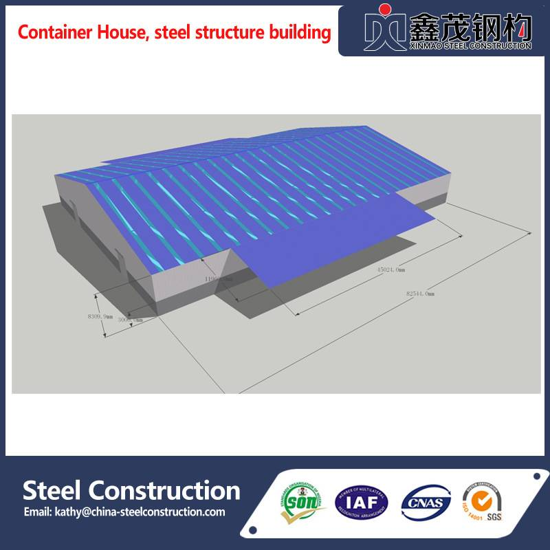 2018 Latest Design Workshop Steel Structure Drawing - High Quality Factory Directly Structural Steel Buildings for Workshop Warehouse – Xinmao ZT Steel