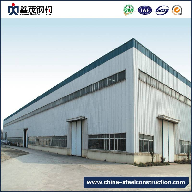 High Quality Prefabricated Steel Structure Building with Low Cost