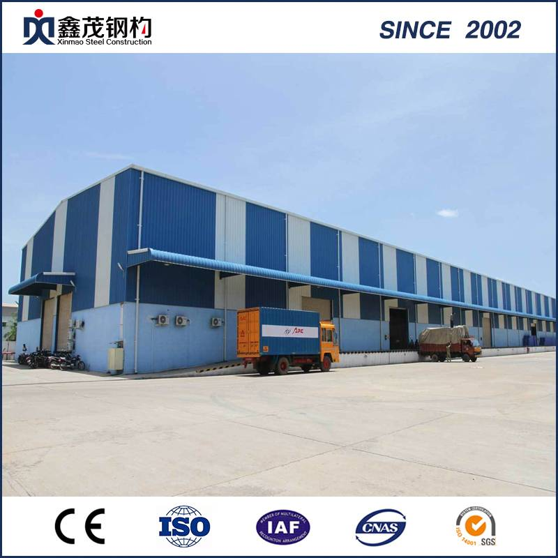 High Quality and Low Cost Prefab Steel Structure Building Steel Warehouse